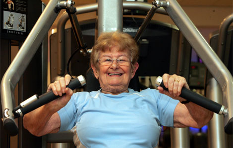 El ejercicio físico ayuda a la fijación de calcio en los huesos