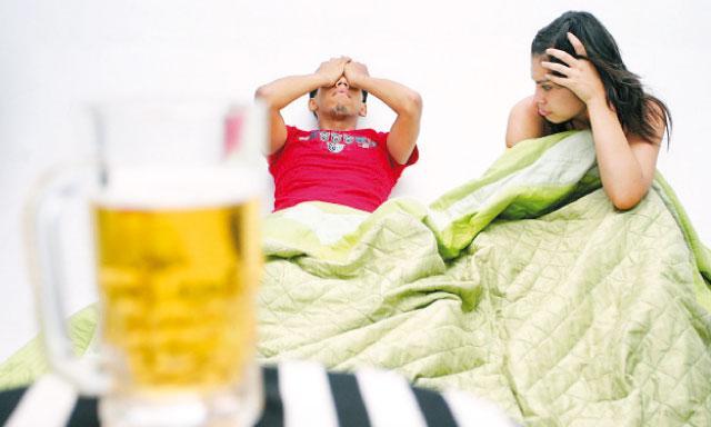 El marido no quiere trabajar y bebe